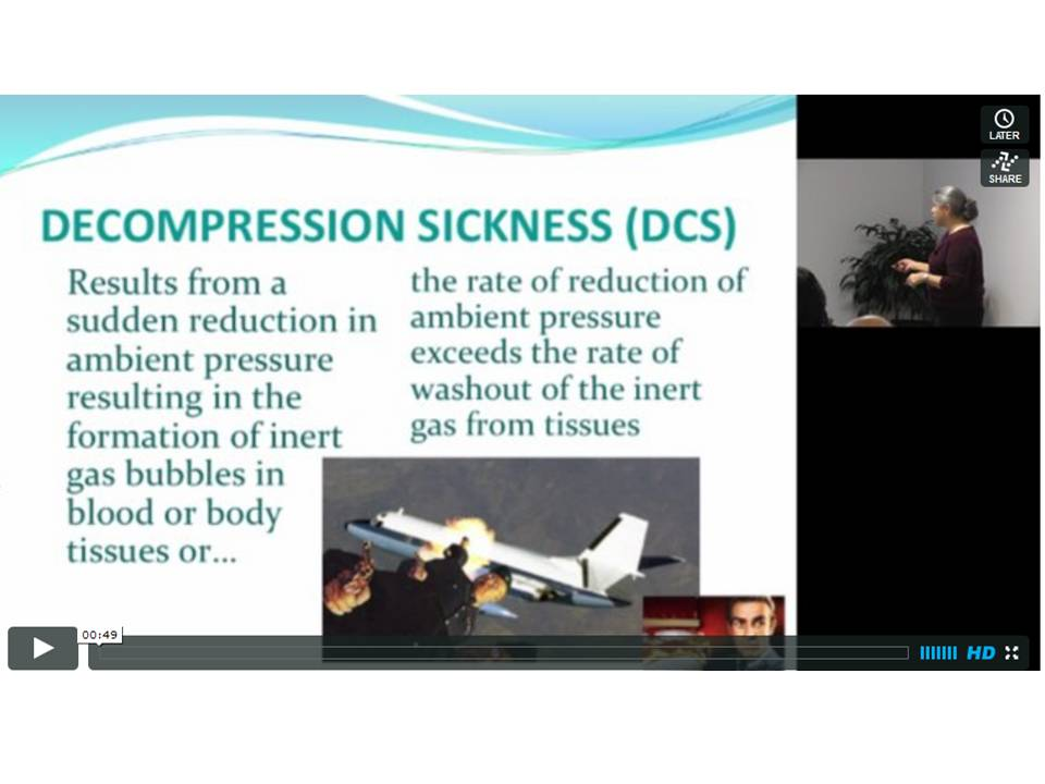 Decompression Sickness DCS