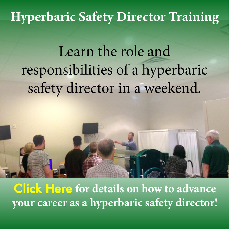 Hyperbaric Safety Director Course email sign up 750 w July 2015