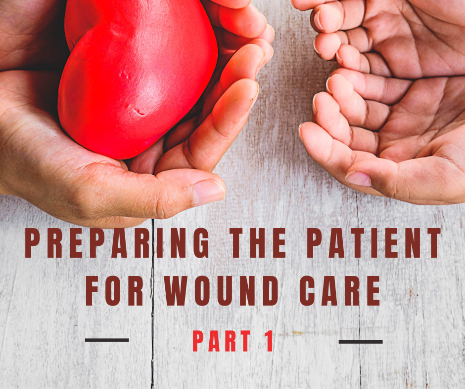 Part 1 Preparing the Patient for Wound Care