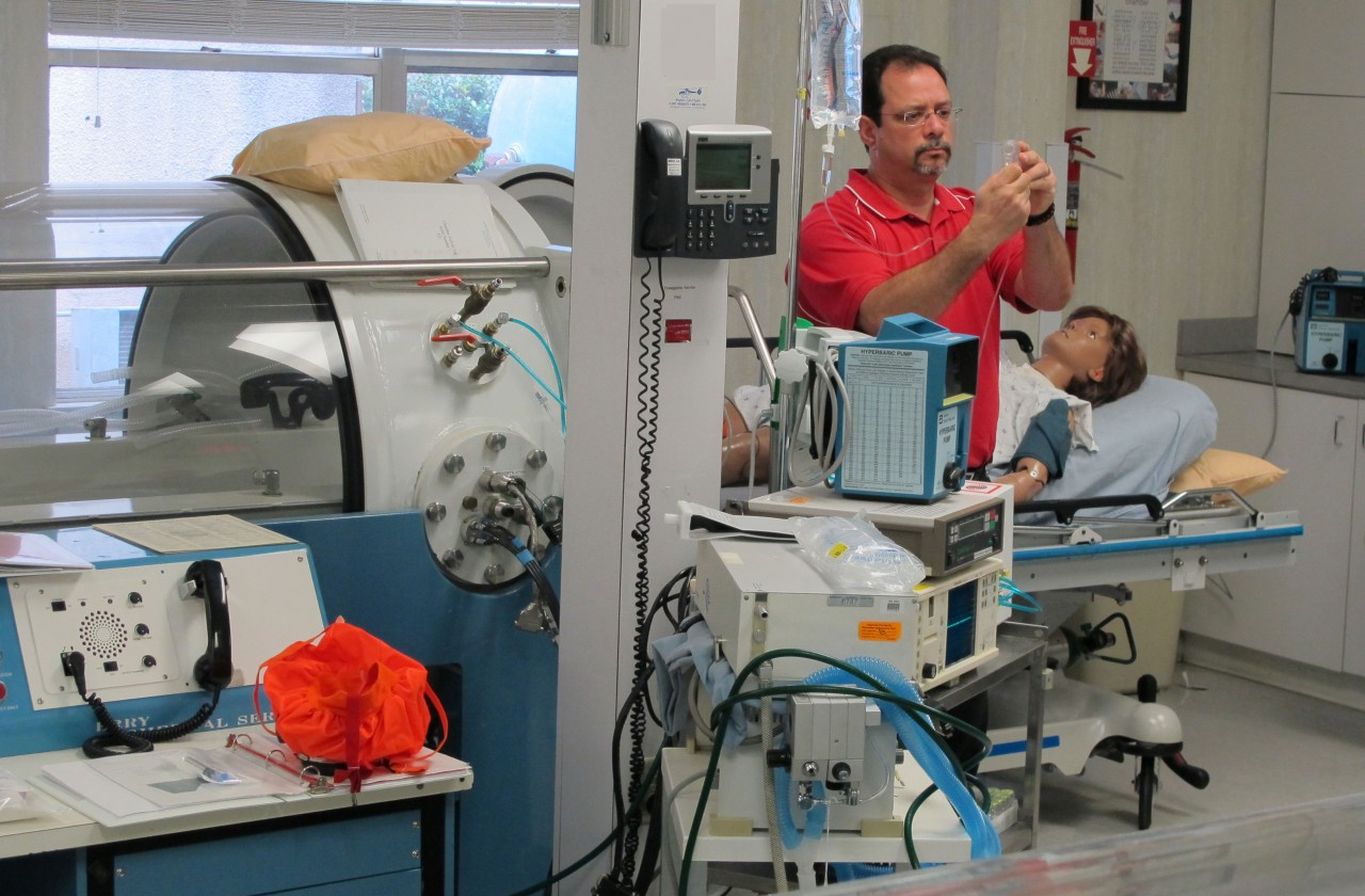 Cardiovascular Issues and Management of the Critically Ill Patient in a Hyperbaric Setting: Nursing Considerations and Preventions, as described by Julio R. Garcia, RN